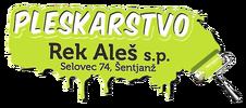 Pleskarstvo Rek Aleš s.p. Logo
